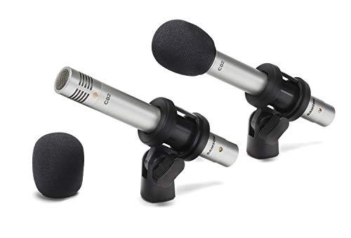 Paire de microphones xlr à condensateur Samson SAC02