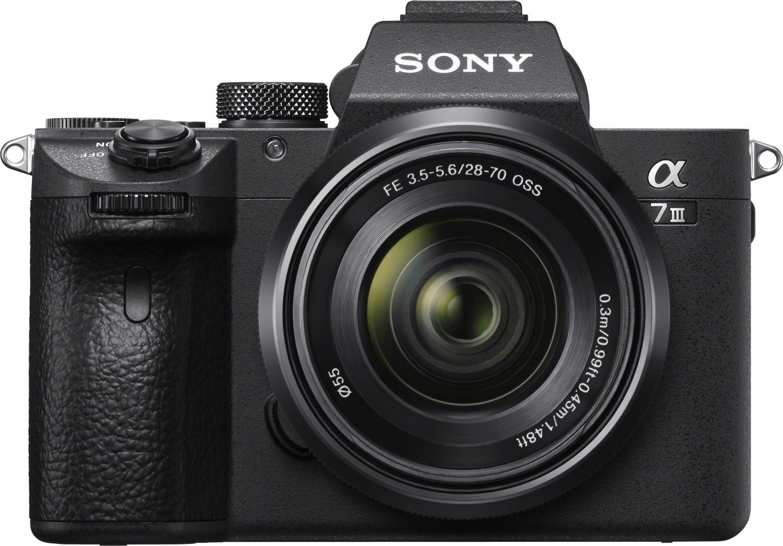 Appareil photo numérique Sony Alpha 7 III (24.2 Mpix, Exmor R CMOS) + objectif FE 28-70 mm f/3.5-5.6 OSS