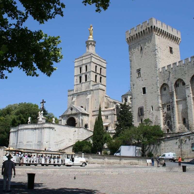 Entrée gratuite du Palais des Papes - Avignon (84)