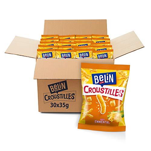 Pack de 30 sachets Belin Croustilles fromage - (30 x 35g)