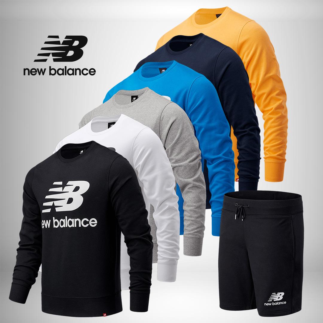 Ensemble sportif (2 pièces) New Balance pour Homme - 6 coloris disponibles (Tailles du S au 2XL)