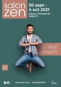 Entrée gratuite au salon Zen du 30 septembre au 4 octobre 2021 à Paris - Salon-Zen.fr