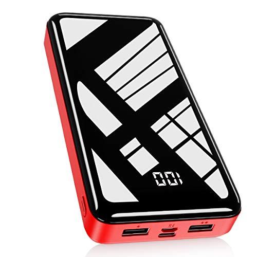 Batterie externe Bextoo Powerbank - 2 ports USB 2.1 A, 30000 mAh (vendeur tiers)