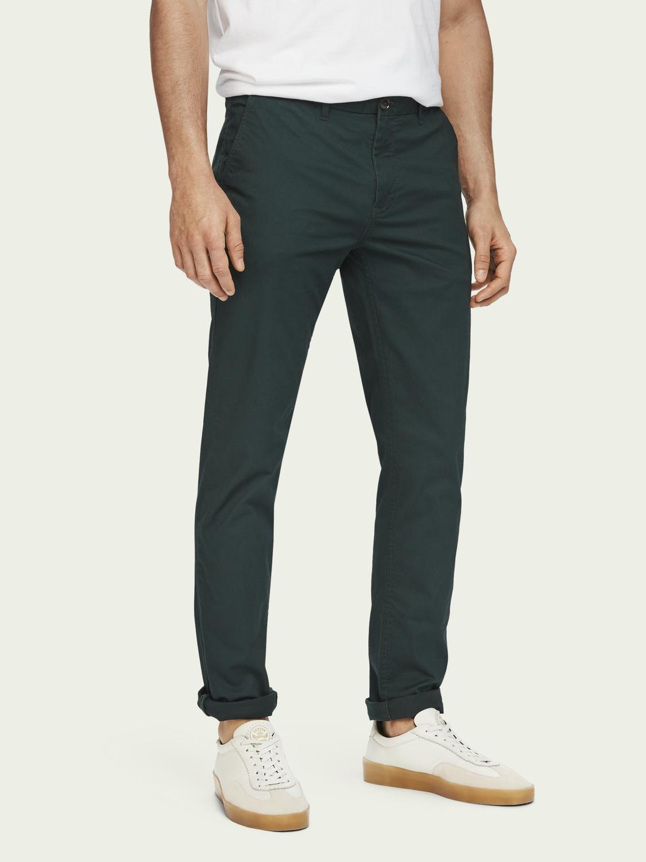 Pantalon Chino classique Mott - Super slim fit (scotch-soda.com)