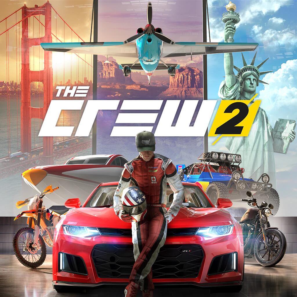 The Crew 2 ou Deluxe (11.39€) ou gold (17.09) - dématérialisé (Ubi Connect)