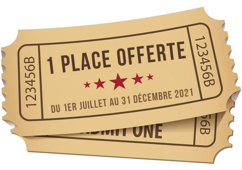 1 place de cinéma acheté = 1 place offerte (valable du 01/07 au 31/12) les 19 & 23 mai - Cinéma Conti L'Isle-Adam (95)