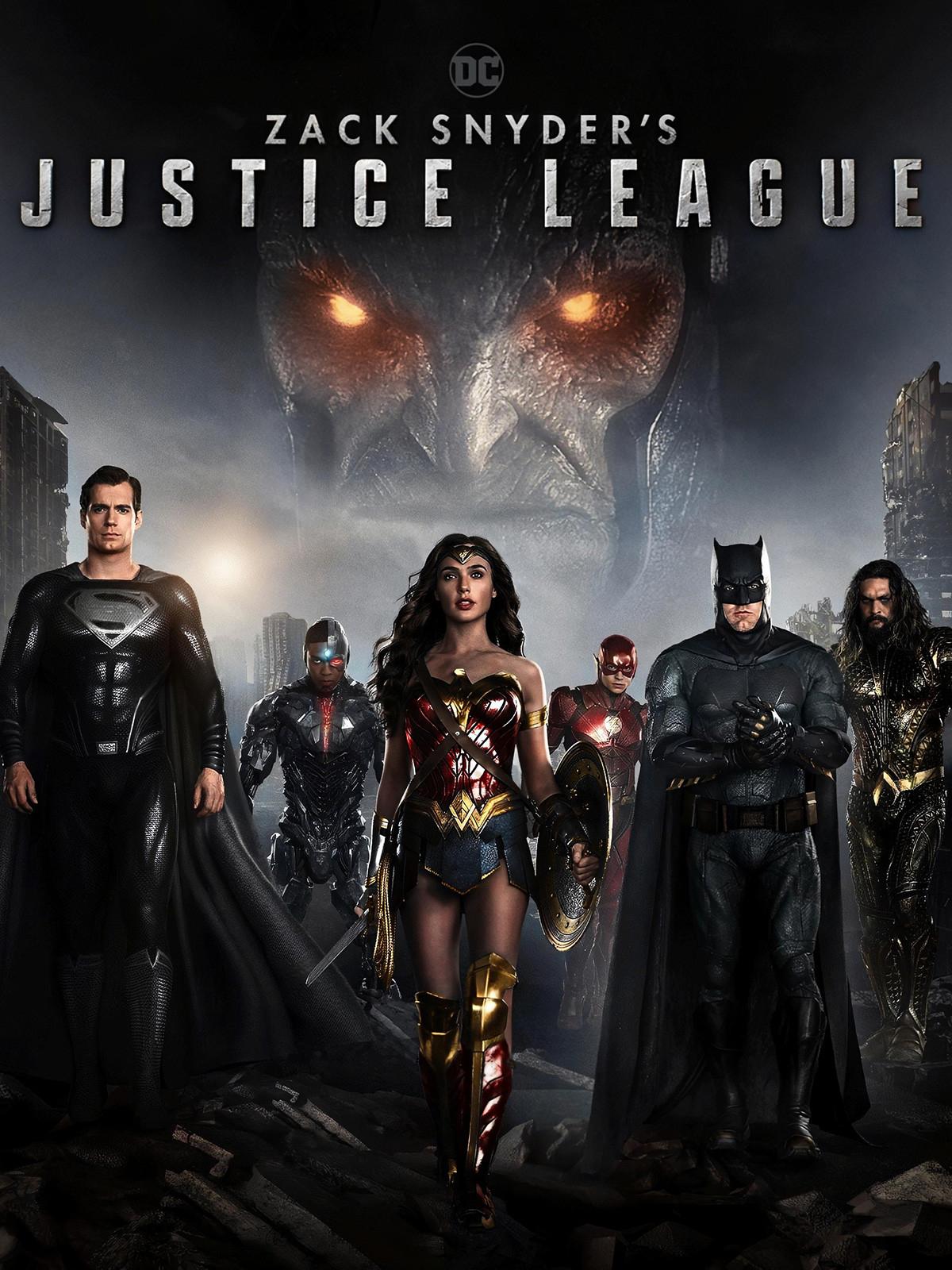 [Pré-commande] Blu-Ray 4K UHD Zack Snyder's Justice League