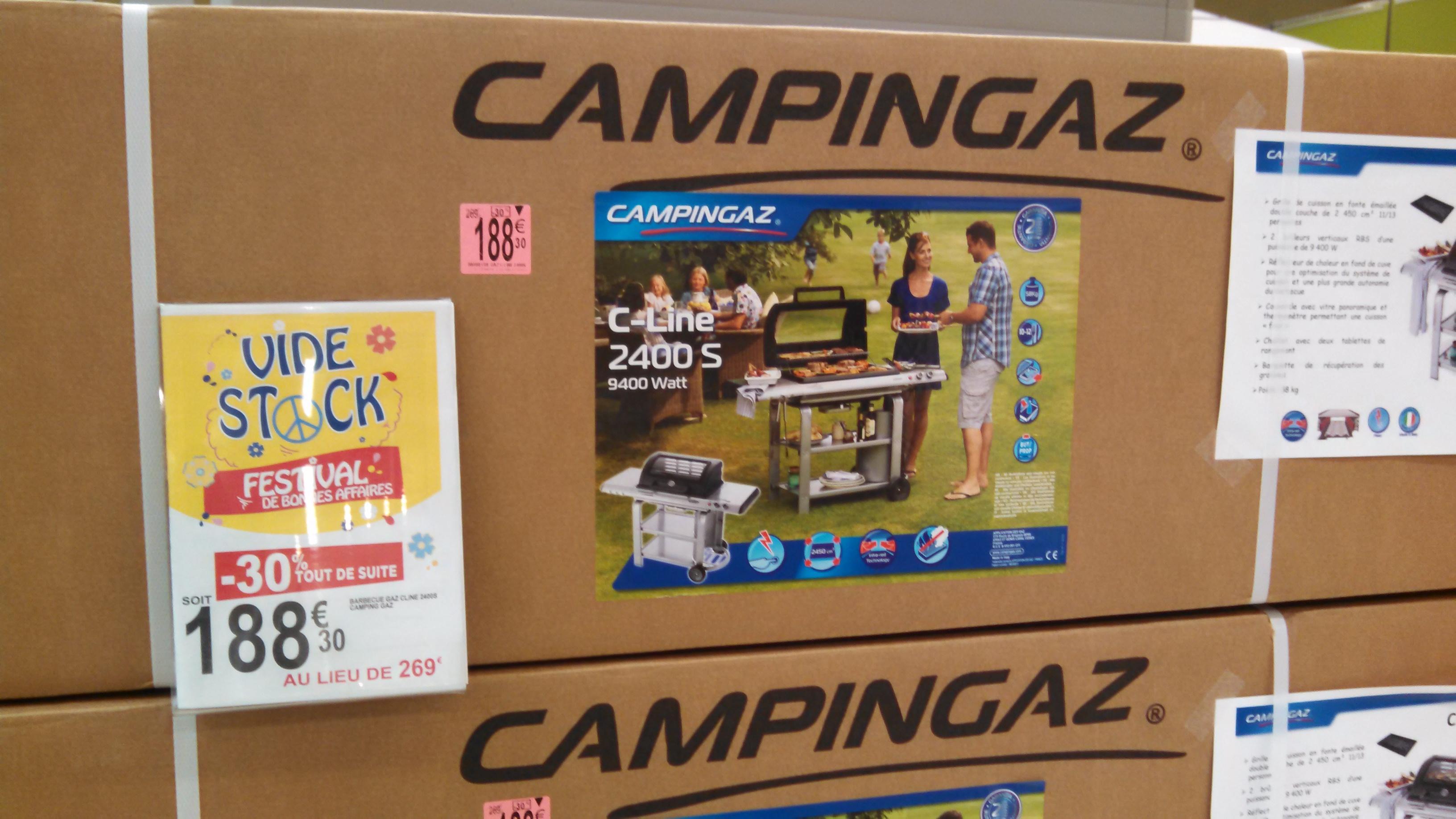 Barbecue à gaz -  Camping Gaz C-Line 2400S