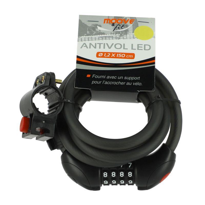 Sélection d'articles en promotion - Ex : Antivol LED pour vélo