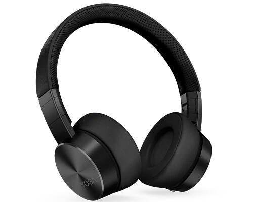 Casque Lenovo Yoga avec suppression active du bruit Bluetooth - Noir