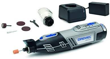 Outil Rotatif Multifonction sans-fil Dremel 8220 - 12V avec 1 Adaptation et 5 Accessoires