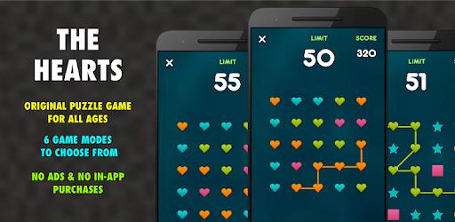 Sélection de jeux gratuits sur Android - Ex : The Hearts PRO
