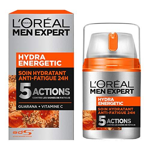 Soin hydratant L'Oréal Men Expert Hydra Energetic Anti-Fatigue 24H - 50 ml