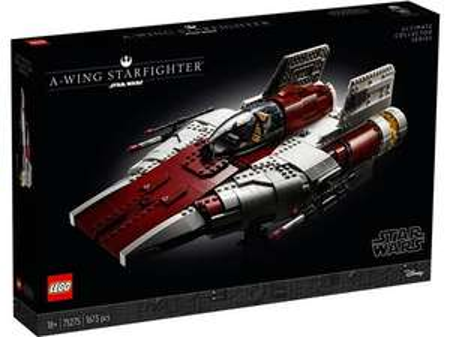 Sélection de produits en promotion - Ex : Jeu de construction Lego Star Wars - A-Wing Starfighter (75275)