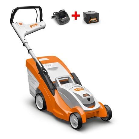 Pack tondeuse Stihl RMA 339 C - avec 2 batteries AK20 2.8 Ah + chargeur AL101 (via ODR de 50€) - VAEV.com
