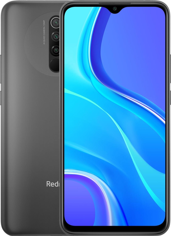 "Smartphone 6.53"" Xiaomi Redmi 9 - full HD+, Helio G80, 3 Go de RAM, 64 Go, noir (+ 3.55€ en Rakuten Points)"
