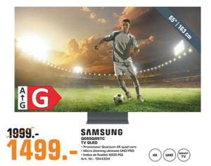 """TV QLED 65"""" Samsung Q65Q95T (2020) - Full LED, 4K UHD, Smart TV, HDR 10+ (Frontaliers Luxembourg)"""