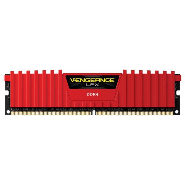 Barrette de RAM Corsair CMK4GX4M1A2400C14R - 4 Go, DDR4, CL14, 2400MHZ