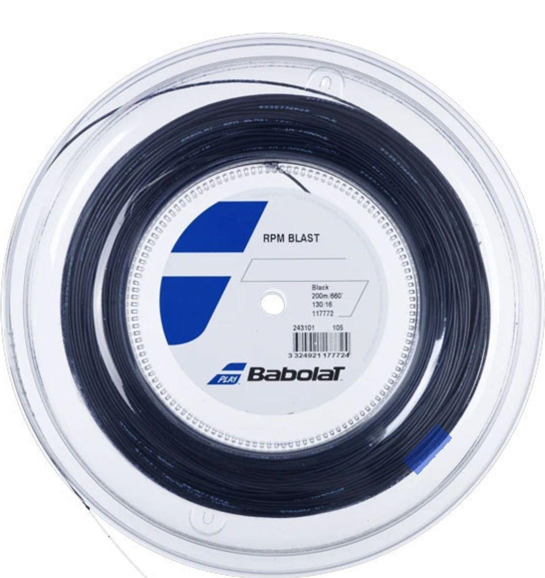 Bobine de cordage pour raquette de tennis RPM Blast (200 m) - SportSystem.fr