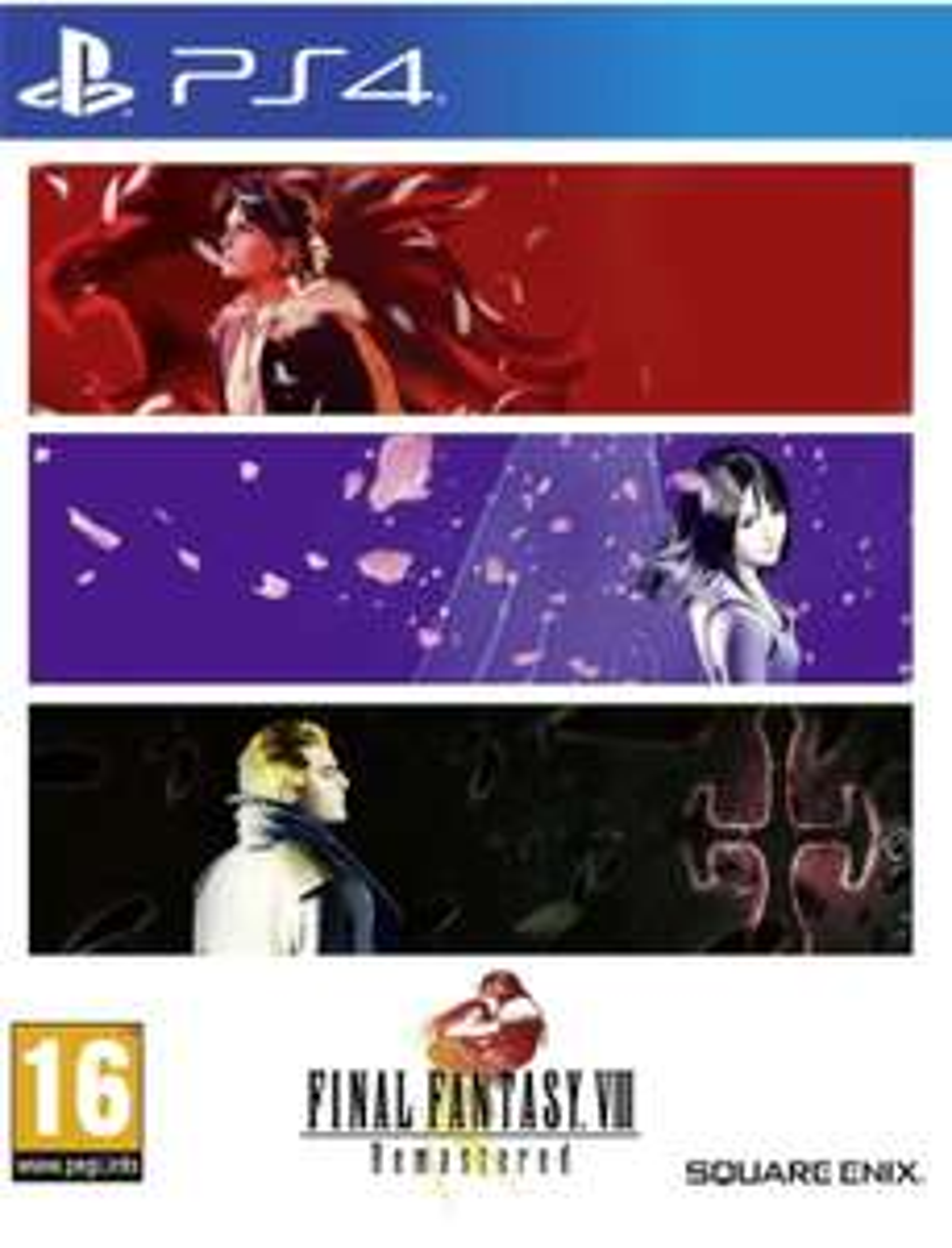 Final Fantaisy VIII Remasteredsur PS4