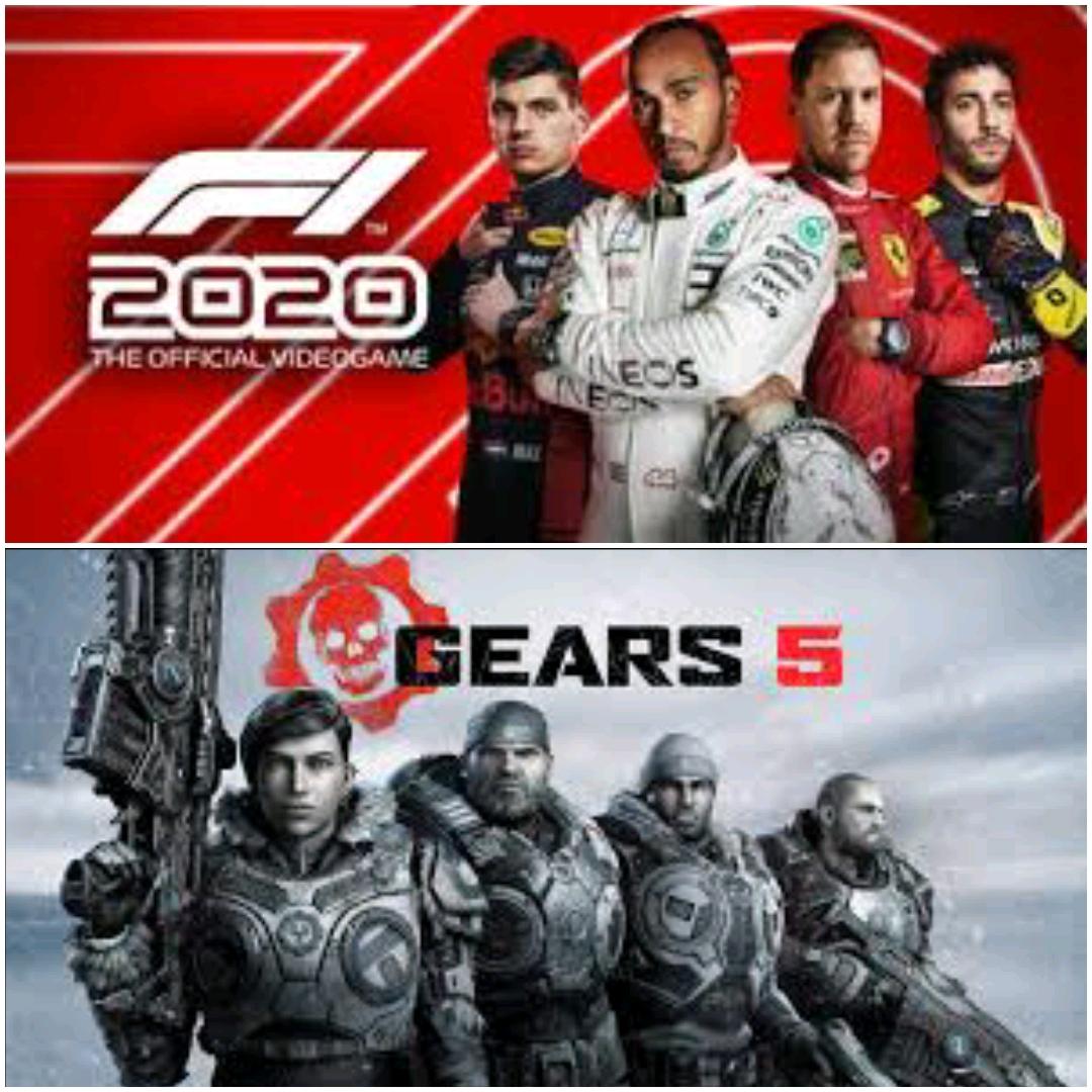 F1 2020 & Gears 5 jouables gratuitement sur PC, Xbox One & Series S/X (dématérialisés)
