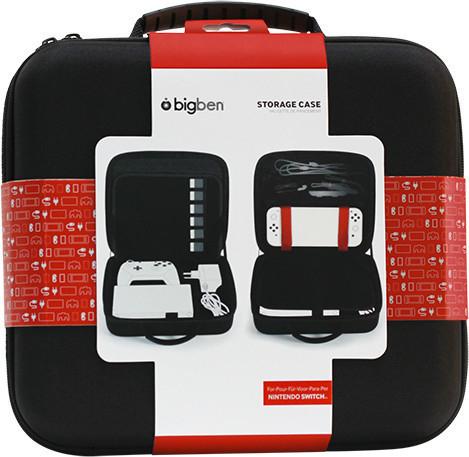 Pochette de protection pour console Bigben Nintendo Switch Storage Case Black