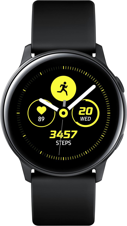 Montre connectée Samsung Galaxy Watch Active - noir (via ODR de 70€)