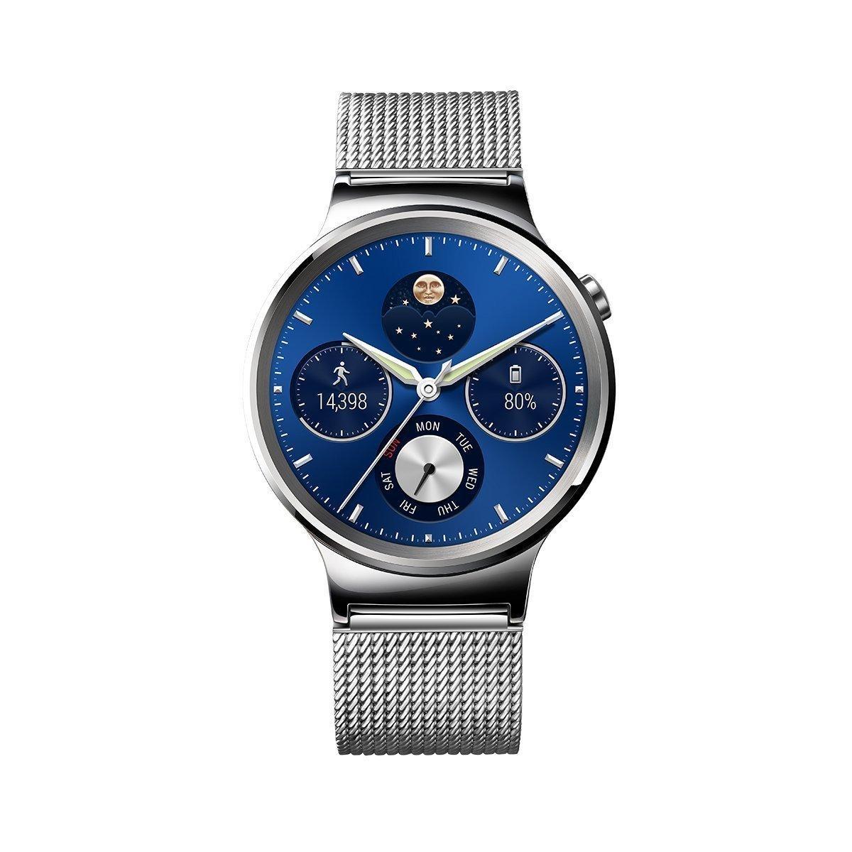 Montre connectée Huawei Watch Classic - bracelet en maille