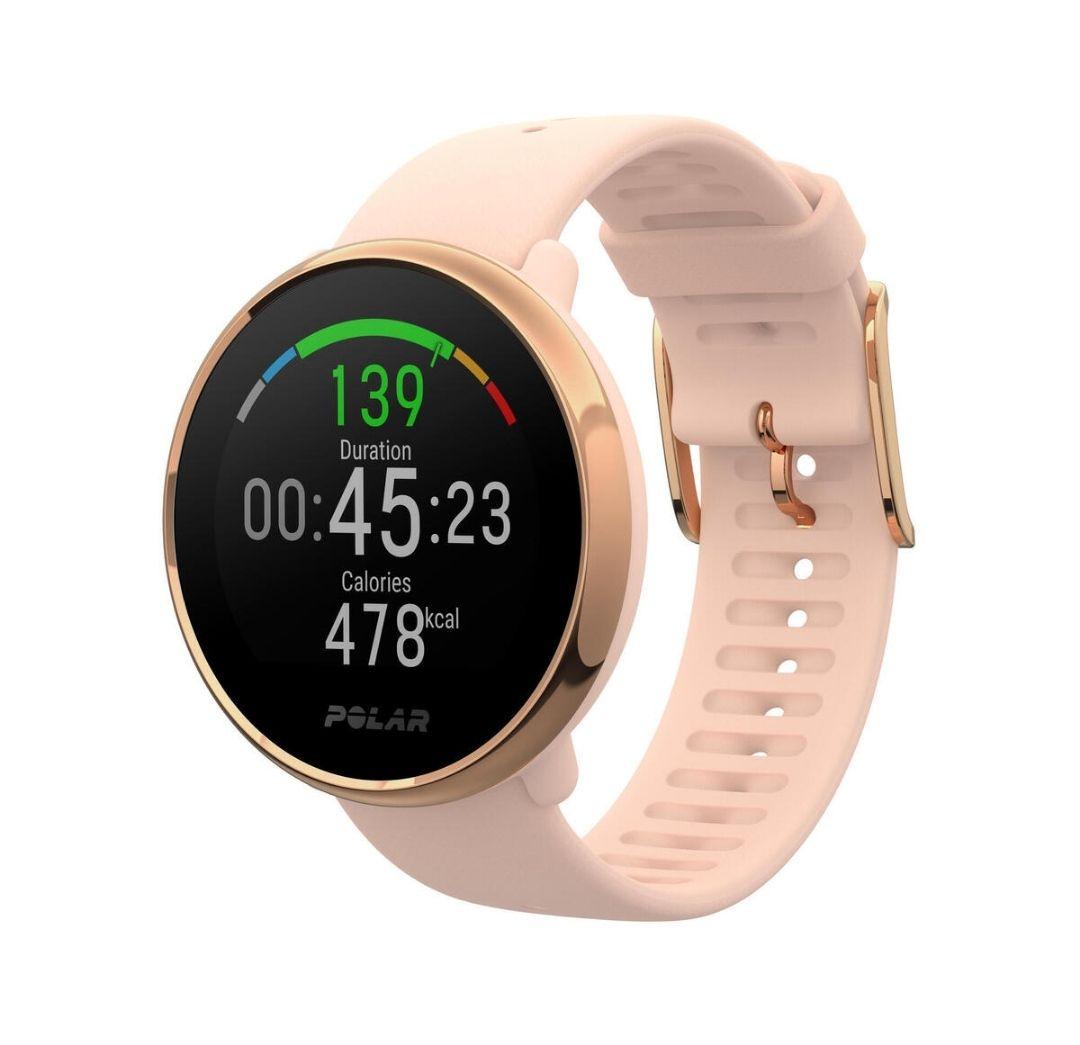 Montre GPS Connectée Polar Ignite avec Cardio Poignet - Rose Or