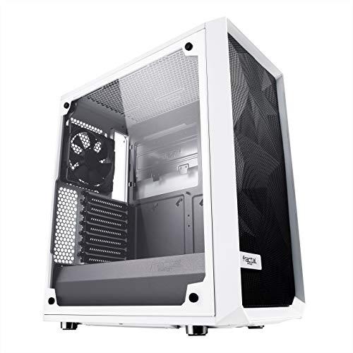 Boîtier PC Fractal Design Meshify C TG - blanc