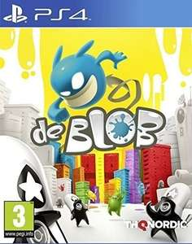 De Blob sur PS4 (+ 0.18€ en Rakuten Points) - Base