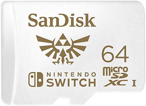 Carte microSDXC SanDisk pour Nintendo Switch (2018) - 64 Go