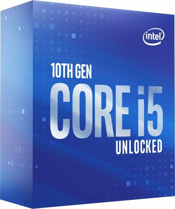 Processeur Intel Core i5-10600KF - 4.1 GHz, Mode Turbo à 4.8 GHz