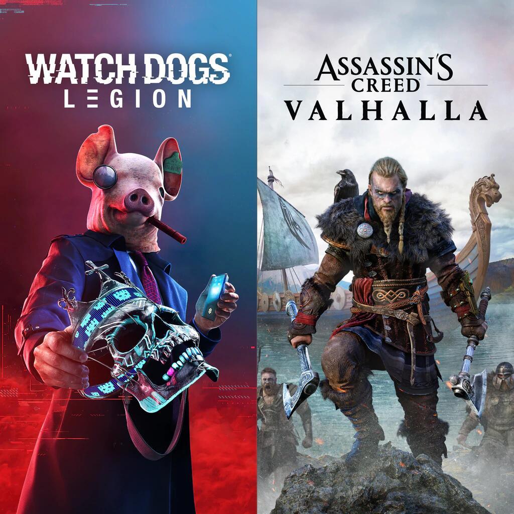 Assassin's Creed Valhalla + Watch Dogs: Legion sur PC (Dématérialisés)