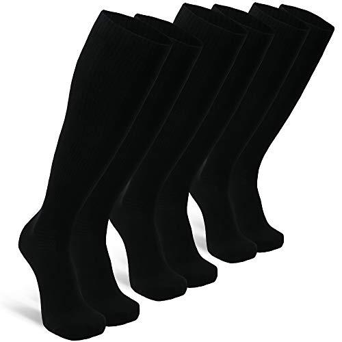 Lot de 3 paires de chaussettes de compression biologique Danish Endurance - taille 43-47 (Vendeur Tiers)