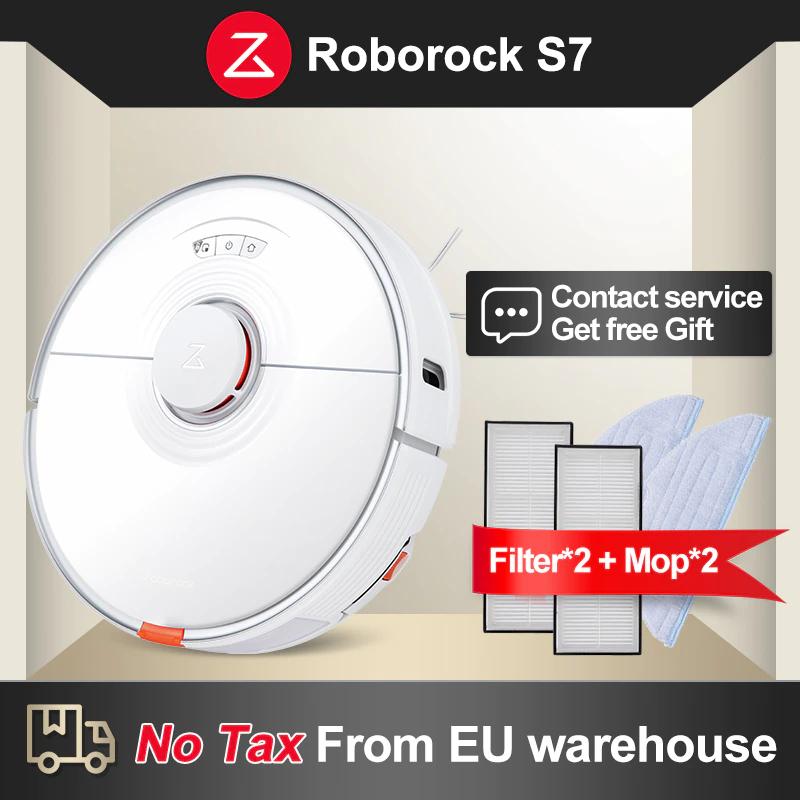 Aspirateur robot Roborock S7 (461,02€ avec le code FRMAY018)