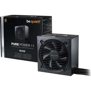 Alimentation PC BeQuiet! Pure Power 11 500W 80+ Gold