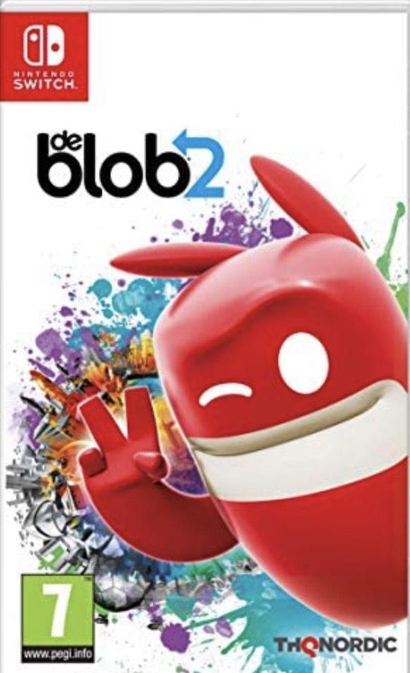 Jeu De blob 2 pour Nintendo switch