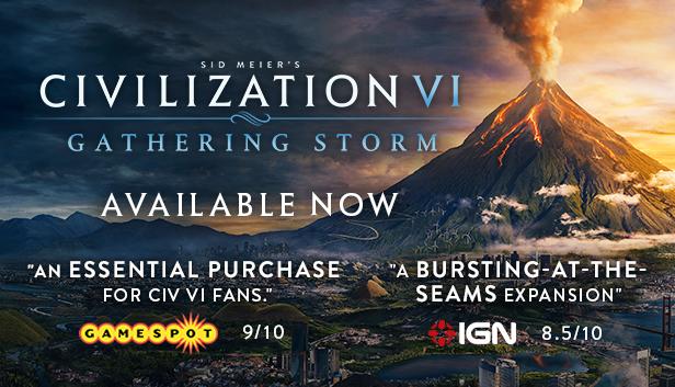 DLC Sid Meier's Civilization VI: Gathering Storm sur PC (Dématérialisé)