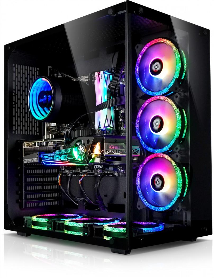 Tour PC Gamer - Ryzen 5600X, INNO3D RTX 3070 Ichill X4 RGB, 16G RAM Spectrix RGB, 1To SSD Nvme, Ventirad Mirage RGB, B550M WIFI, Alim 700W