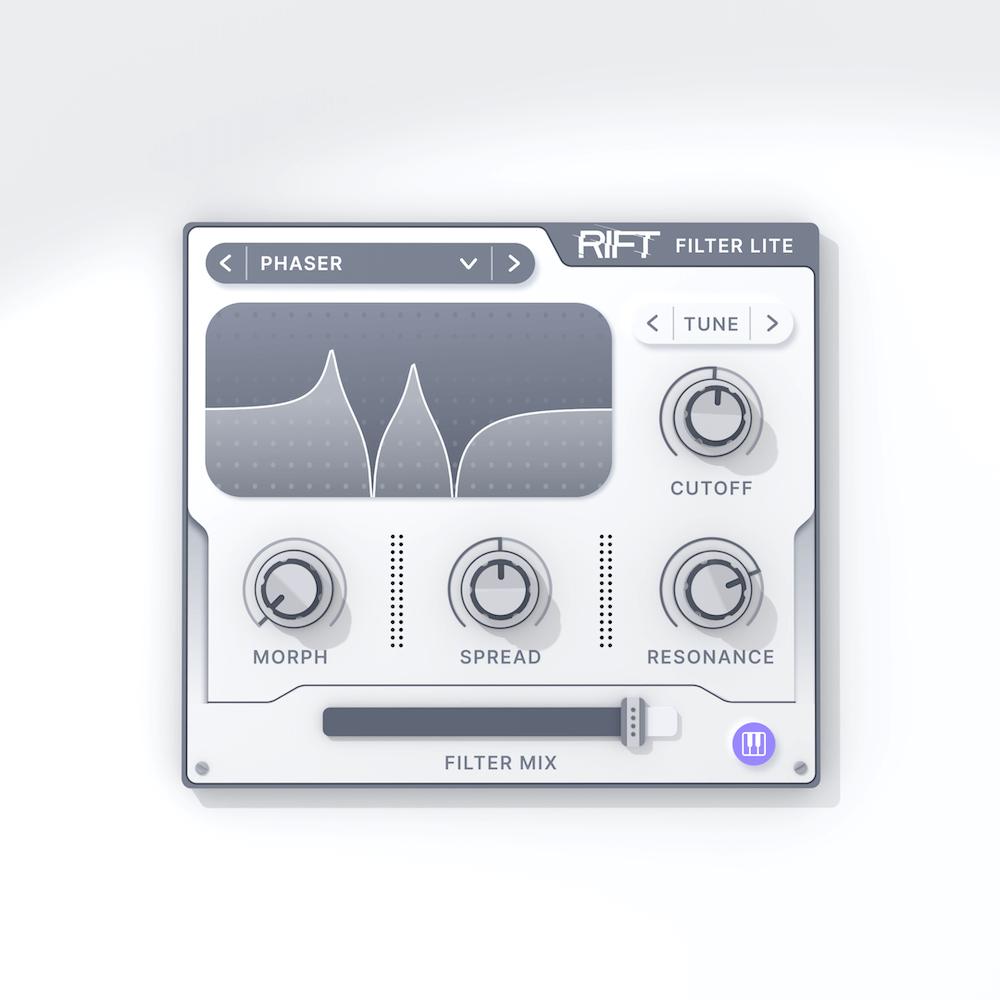 Plugin Rift Filter Lite gratuit sur PC & Mac (Dématérialisé - VST / VST3 / AU - minimal.audio)