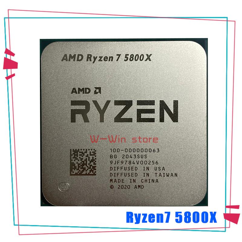 Processeur AMD Ryzen 7 5800X (356,90€ avec AEETE20)