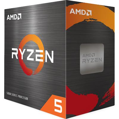 Processeur AMD Ryzen 5 5600X avec ventirad wraith - 3.7 / 4.6 GHz