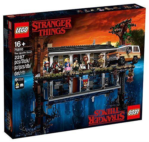 Lego Stranger Things 75810 - La maison dans le monde à l'envers
