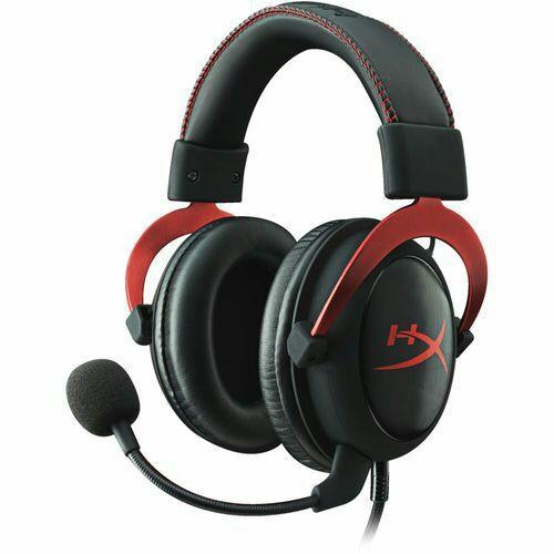 10€ réduction sur les casques audio HyperX - Ex : HyperX Cloud II, Rouge à 89€