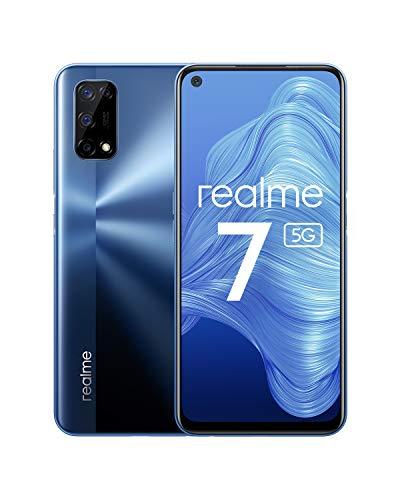 """Smartphone 6.5"""" Realme 7 5G - 120Hz, 6Go de RAM, 128Go ROM, Dimension 800U, 48MP, NFC, 30W, 5000mAh"""