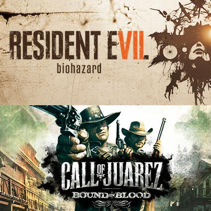 Call of Juarez offert dès 2€ d'achat - Ex: Resident Evil 7 + Call of Juarez Bound in Blood sur PC (Dématérialisé - Steam)