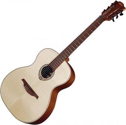 Sélection de guitares acoustiques et de ukulélés Lâg en promotion - Ex: Classique TN70A