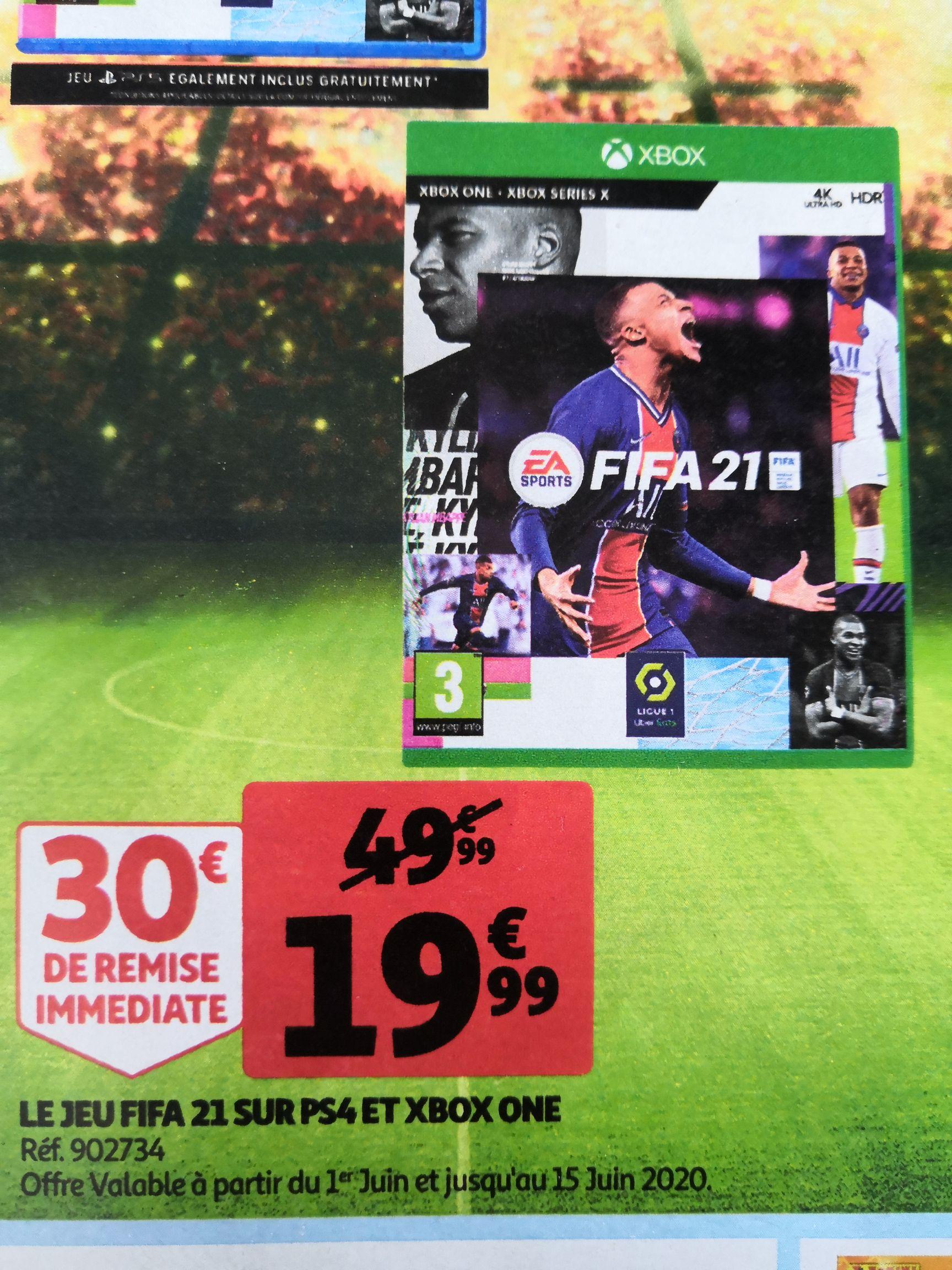 Jeu FIFA 21 sur Xbox One, PS4 et Nintendo Switch