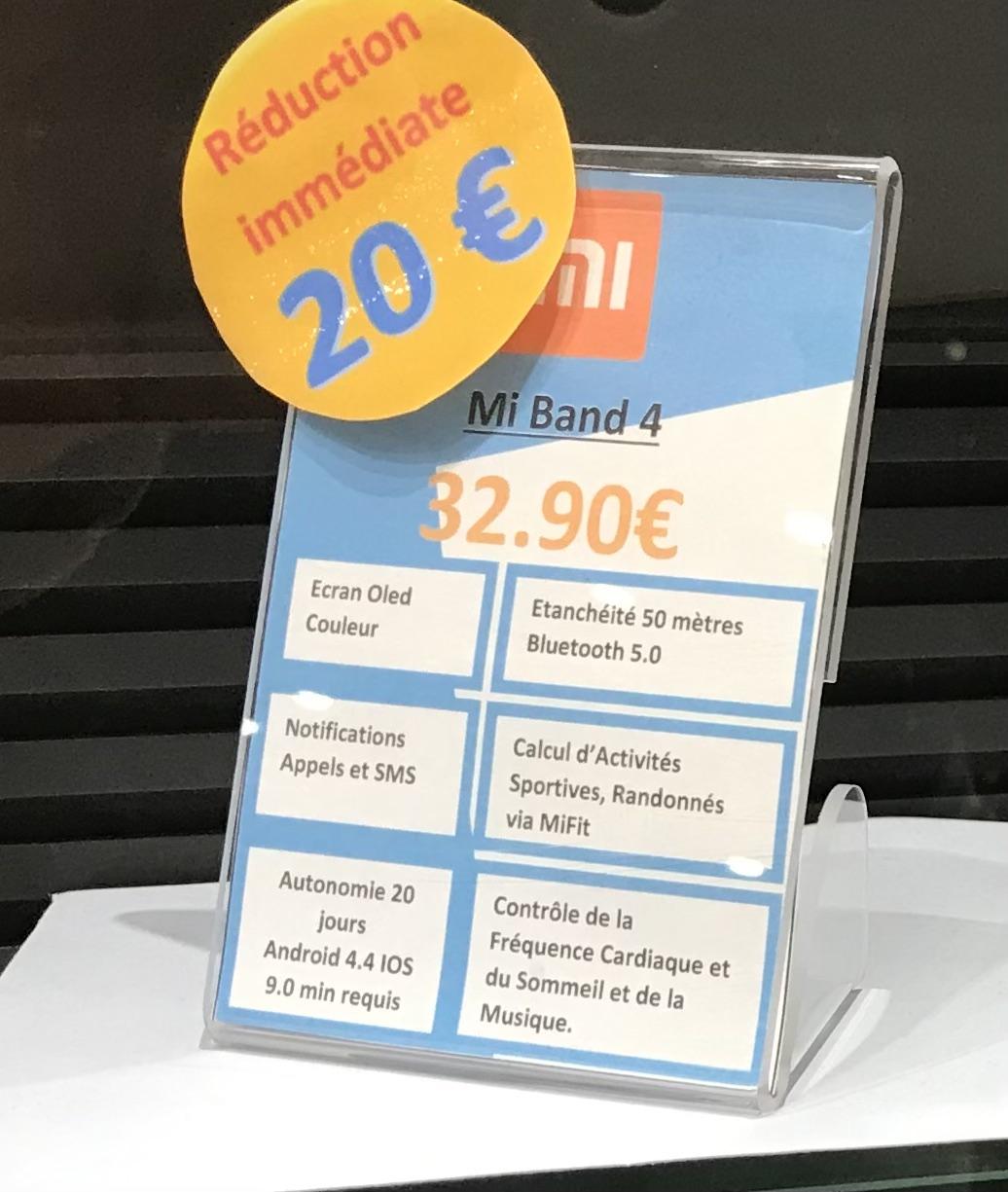 Bracelet connecté Xiaomi Mi Band 4 - Clermont-Ferrand le Brezet (63)